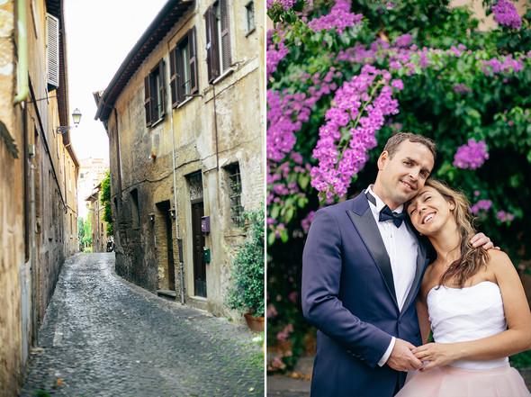 Wedding Italy Rome - фото №21