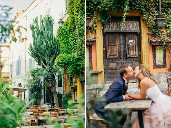 Wedding Italy Rome - фото №15