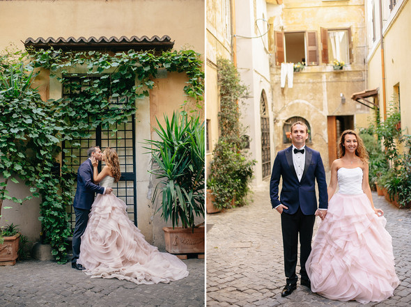 Wedding Italy Rome - фото №24