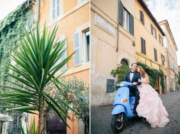 Wedding Italy Rome - фото №16