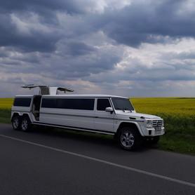Лімузин Кубік Gelandewagen 2017 року - авто на свадьбу в Ивано-Франковске - портфолио 3