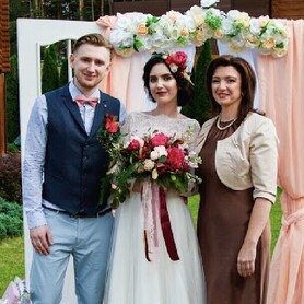 Ведущая свадебной церемонии Юлия Сигалова