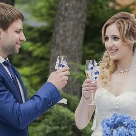 Ведущая свадебной церемонии Юлия Сигалова - выездная церемония в Киеве - портфолио 4