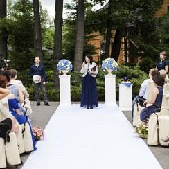 Ведущая свадебной церемонии Юлия Сигалова - выездная церемония в Киеве - фото 3