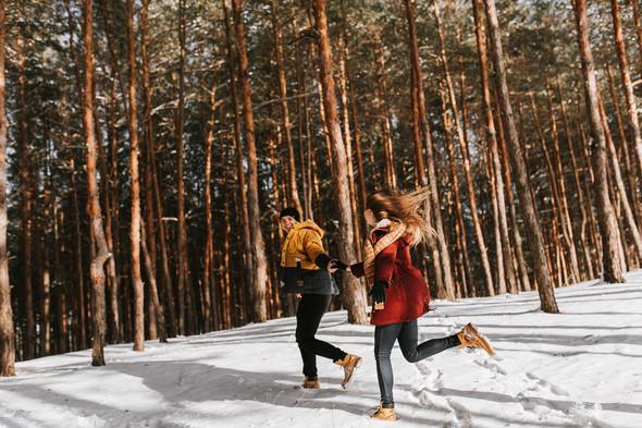 Как мы снег ловили... - фото №6