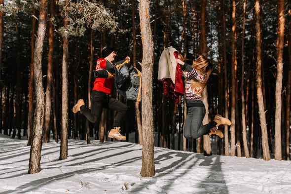 Как мы снег ловили... - фото №15
