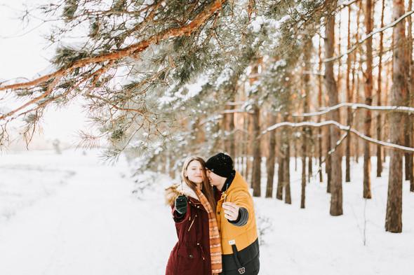 Как мы снег ловили... - фото №49