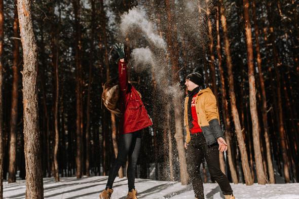 Как мы снег ловили... - фото №10
