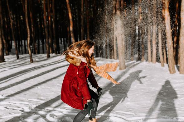 Как мы снег ловили... - фото №8