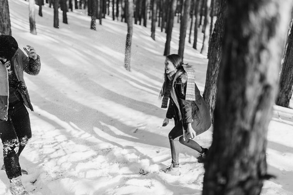 Как мы снег ловили... - фото №30