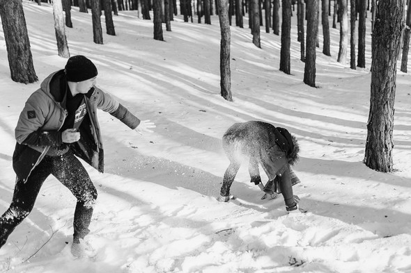 Как мы снег ловили... - фото №29