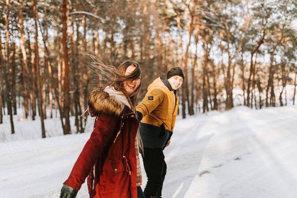 Как мы снег ловили... - фото №40