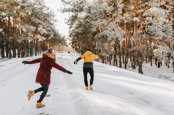 Как мы снег ловили... - фото №2