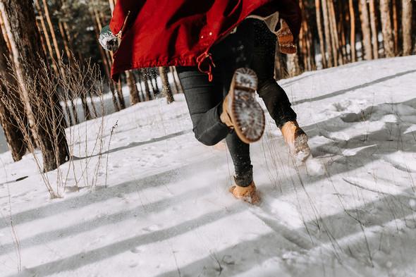 Как мы снег ловили... - фото №4