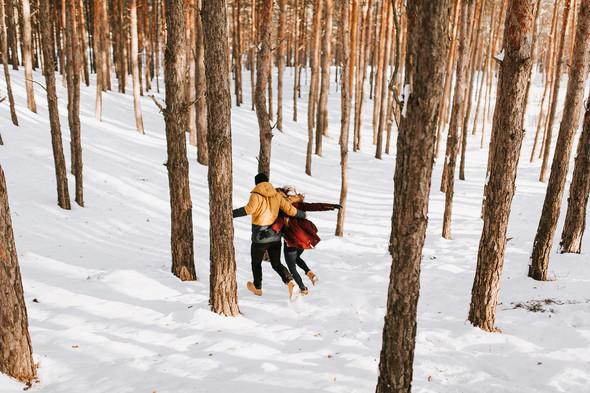 Как мы снег ловили... - фото №3