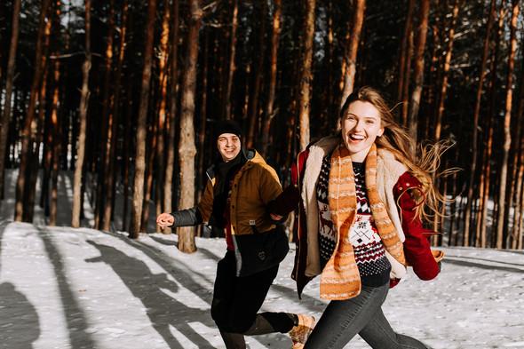 Как мы снег ловили... - фото №5