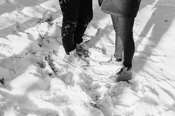Как мы снег ловили... - фото №32