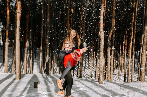 Как мы снег ловили... - фото №26