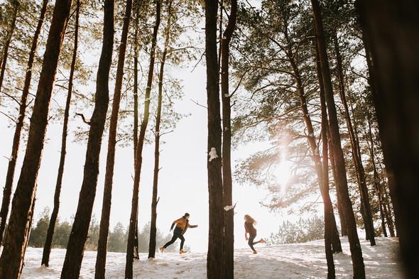 Как мы снег ловили... - фото №33