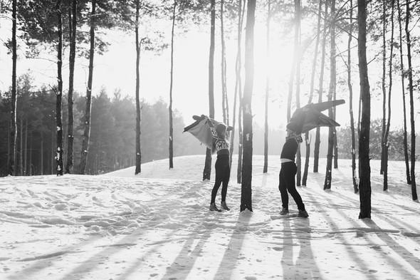 Как мы снег ловили... - фото №27