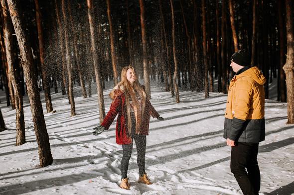 Как мы снег ловили... - фото №12
