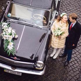 Ретро кортеж. Авто на свадьбу. Авто на весілля. - авто на свадьбу в Черновцах - портфолио 4