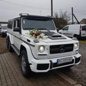 Прокат Авто Мерседес Кубік G клас 6х6 Араб - авто на свадьбу в Ровно - портфолио 1