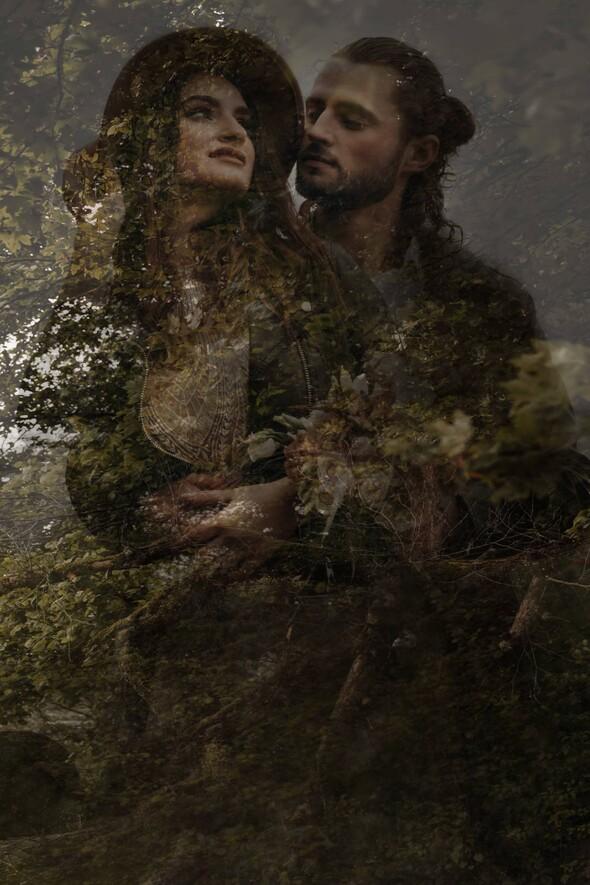 Фотосессия для Алины и Богдана - фото №73