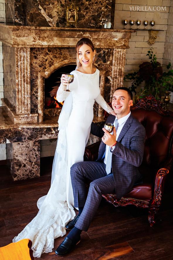 Свадебная фотосессия Юли и Лёши - фото №21