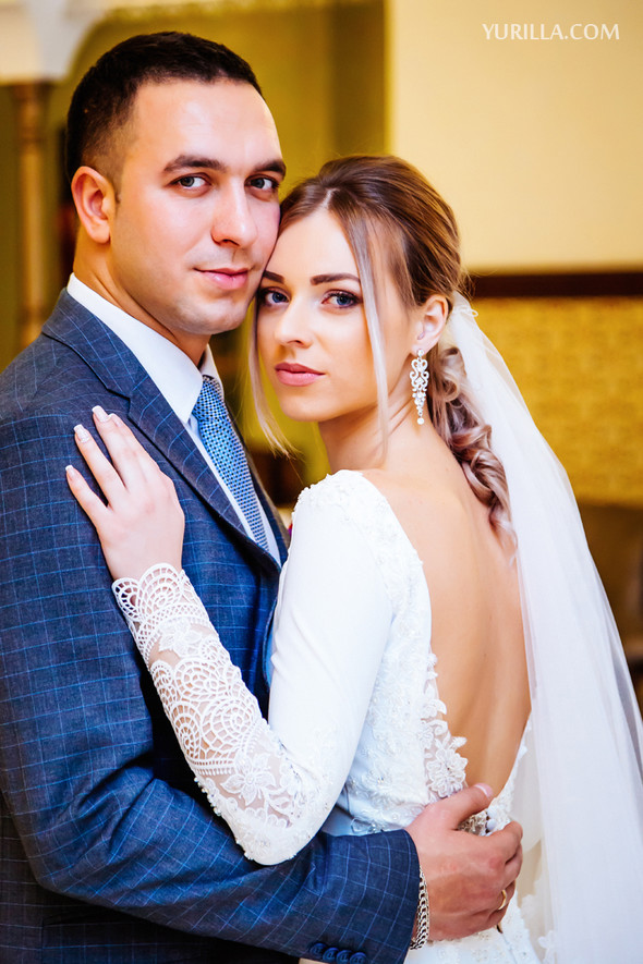 Свадебная фотосессия Юли и Лёши - фото №13