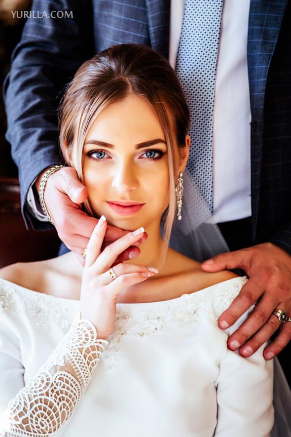 Свадебная фотосессия Юли и Лёши - фото №18