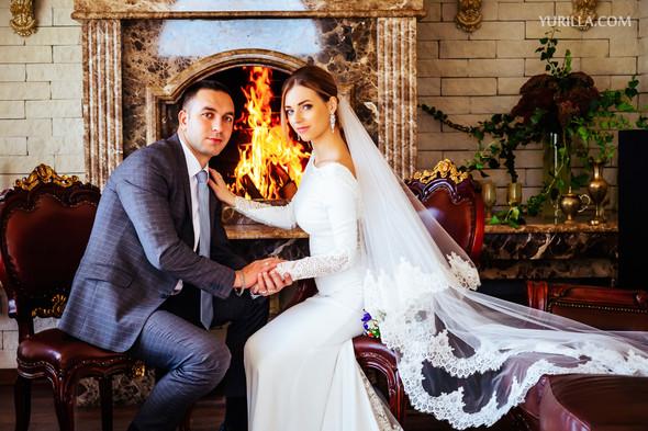 Свадебная фотосессия Юли и Лёши - фото №24