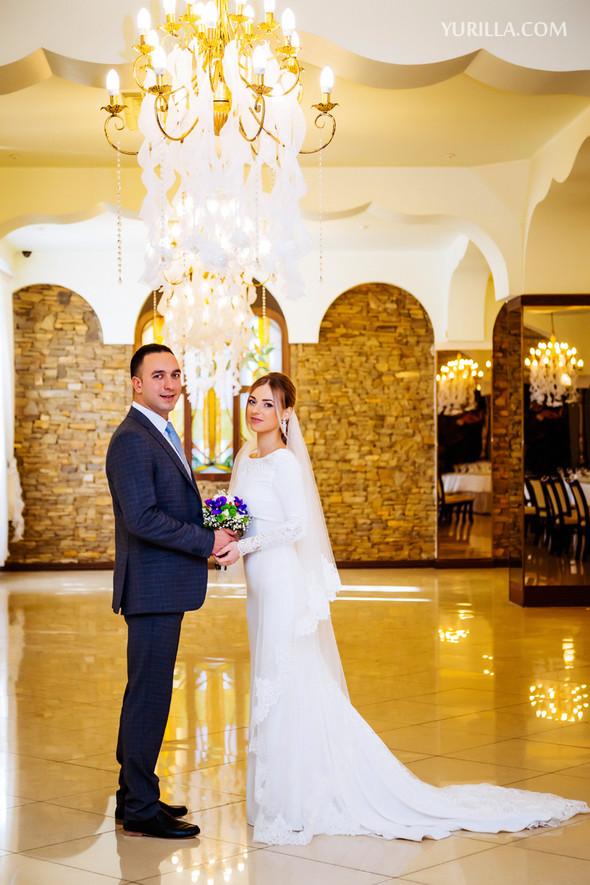 Свадебная фотосессия Юли и Лёши - фото №7
