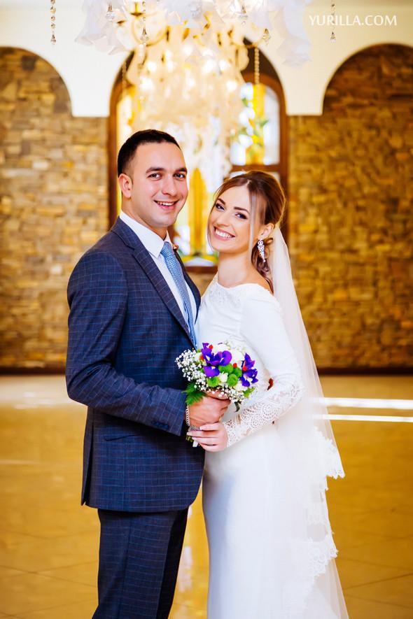 Свадебная фотосессия Юли и Лёши - фото №8