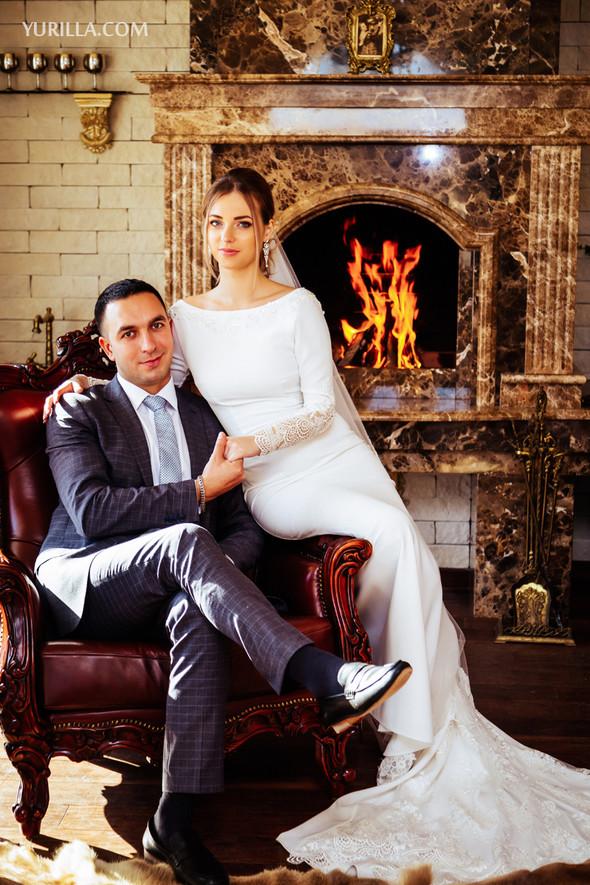 Свадебная фотосессия Юли и Лёши - фото №15