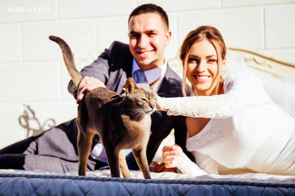 Свадебная фотосессия Юли и Лёши - фото №31