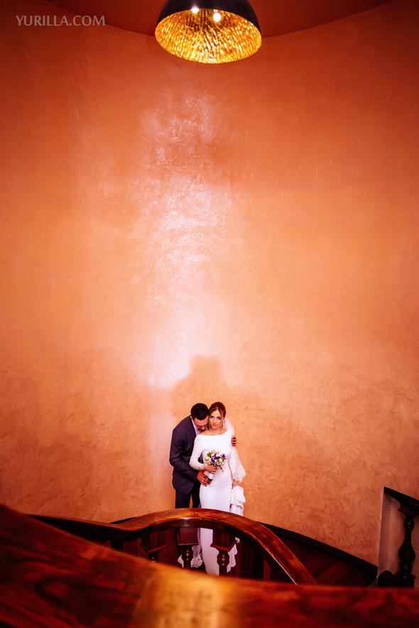 Свадебная фотосессия Юли и Лёши - фото №5