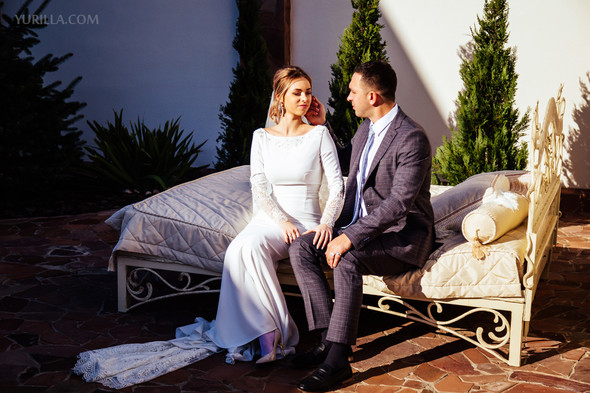 Свадебная фотосессия Юли и Лёши - фото №33