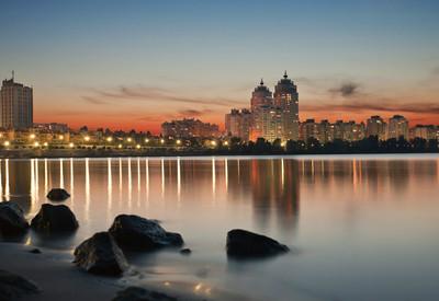 Оболонская набережная - место для фотосессии в Киеве - портфолио 6