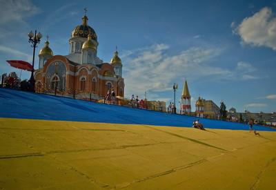 Оболонская набережная - место для фотосессии в Киеве - портфолио 4