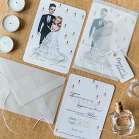 INDIEart_studio - пригласительные на свадьбу в Киеве - портфолио 4