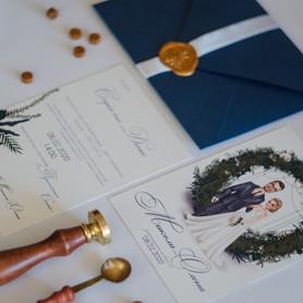 INDIEart_studio - пригласительные на свадьбу в Киеве - портфолио 6