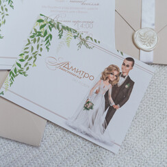 INDIEart_studio - пригласительные на свадьбу в Киеве - фото 2