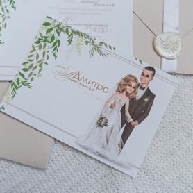 INDIEart_studio - пригласительные на свадьбу в Киеве - портфолио 2