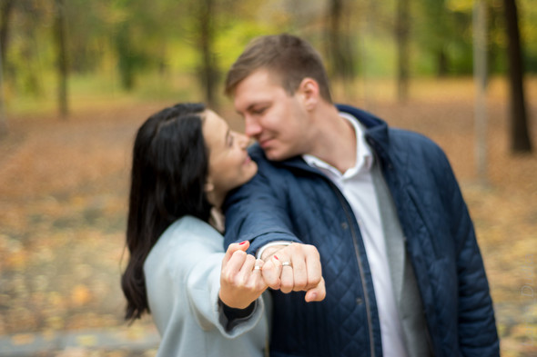 Свадебная осенью - фото №2