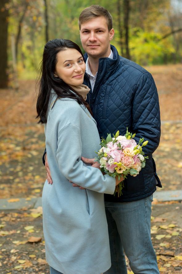 Свадебная осенью - фото №4