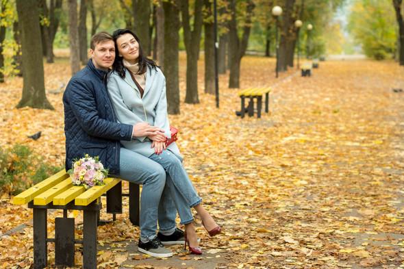 Свадебная осенью - фото №10