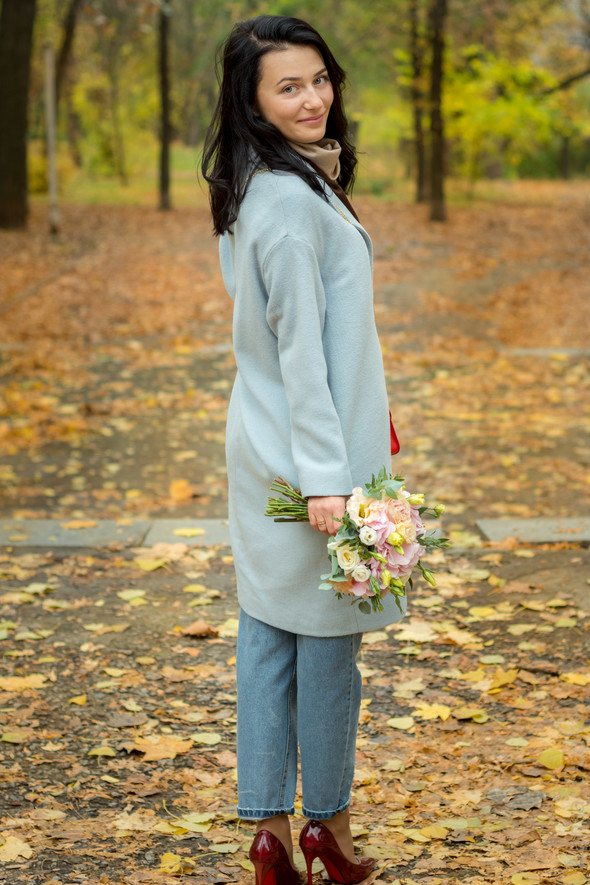 Свадебная осенью - фото №3
