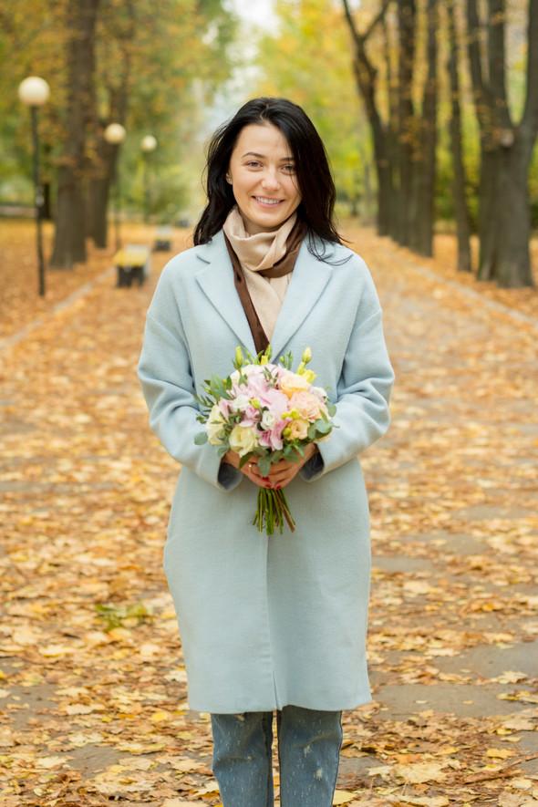 Свадебная осенью - фото №13