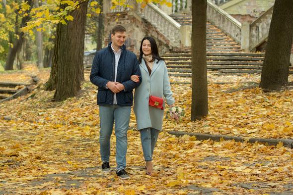 Свадебная осенью - фото №6